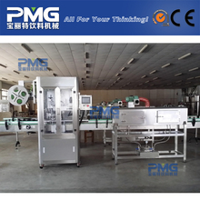 Automatic sleeve shrink labeling machine for plastic drinking water bottle