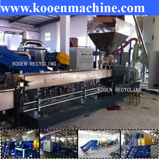 high cost-effective recycled plastic bag making machine