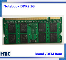 Stock sodimm Notebook 2gb Ddr2 Laptop Ram 6400 memory