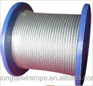 Surface mining wire ropes