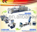 Plastic lunch box production line/pizza box making machine