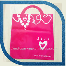 Plastic Package Alibaba Cheap Best Seller Pink Custom Brand Plastic Bag