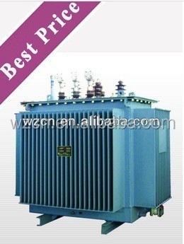 6/0.4kv power transformer outdoor 125kva oil type transformer with three years warrantly