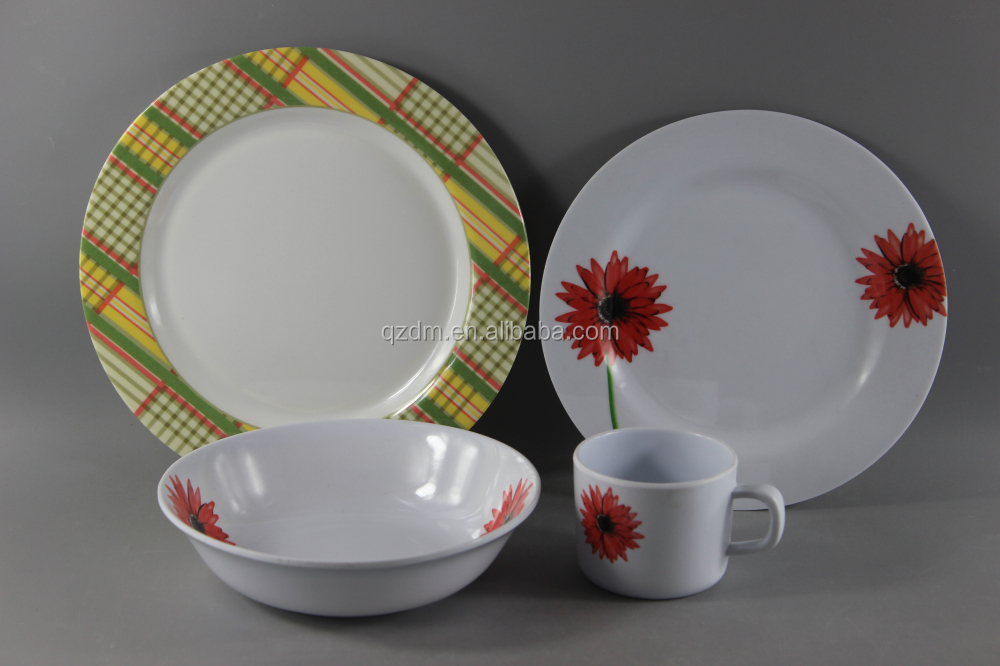 Food Grade Melamine Dinnerware Set,Complete Dinner Set For Family