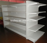 Supermarket/Department Store/Showroom Island Gondola Racking/shelving JS-SSN001