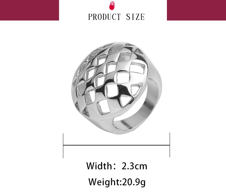 Factory direct sale high quality 316L stainless steel ring