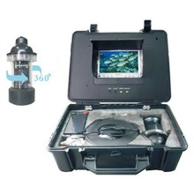 20m Underwater fishing video camera 600tvl CCD 360 Degree View Remote Control with 7 Inch LCD monitor