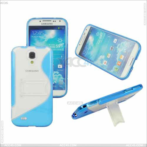 Back Support TPU+PC Cell Phone Case Cover for Samsung Galaxy S4 i9500 P-SAMI9500HC006