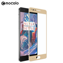 Mocolo Custom Size Mobile Phone Accessories Universal Wholesale 9h Hardness Tempered Glass Screen Protector For OnePlus 5