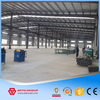 Factory Price Light Steel Structure Large Span Building Sandwich Panel Prefabricated Buildings