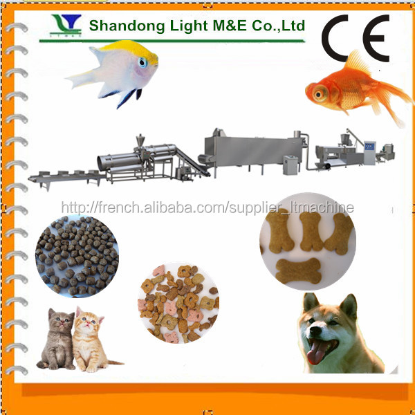 China Hot Sale Shandong Light Center Filled Dog Chewing Food Machine