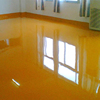 Anti chemicals smooth compressive flooring coating