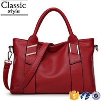 CR proffesional sales team new model designer leather hand bag lady's with platinum long strap red women shoulder bag