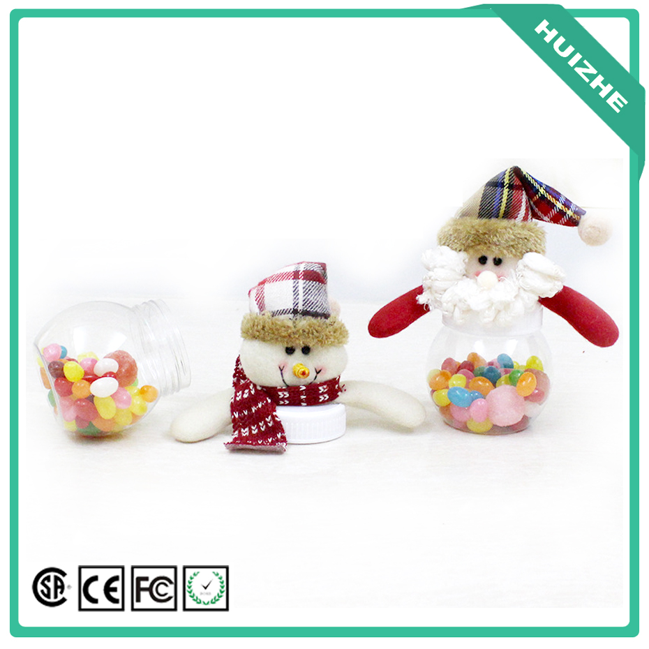 Christmas Gift items Candy Jar for children Christmas Decoration and Christmas Desktop Window Displays