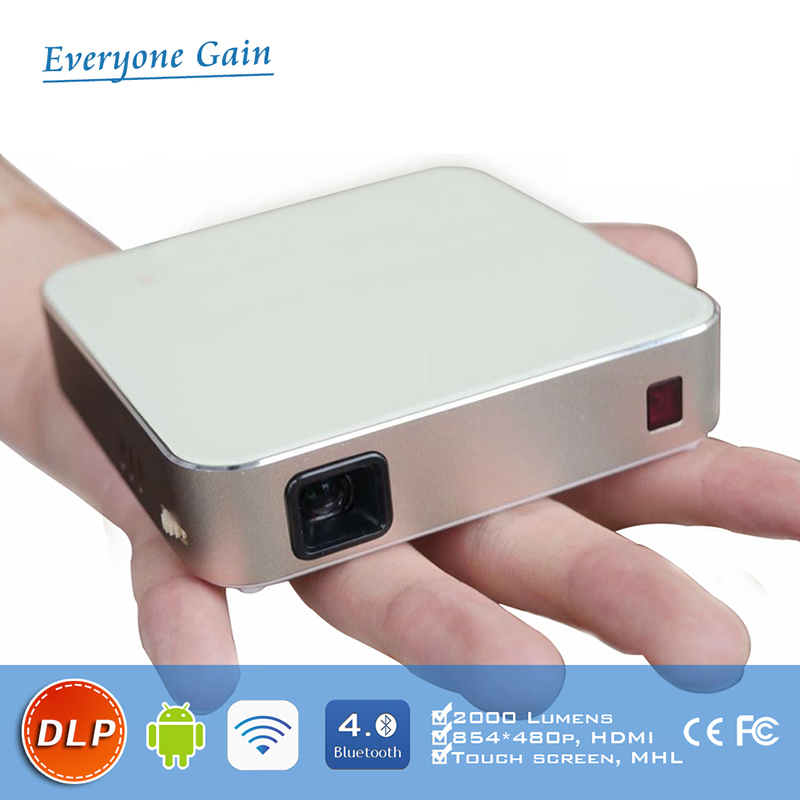 DH-A330 2000 lumen interactive projector with android wifi touch screen