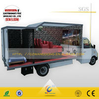 Truck mobile 5d cinema mobile 5d 7d 9d cinema with 6 seats hydraulic