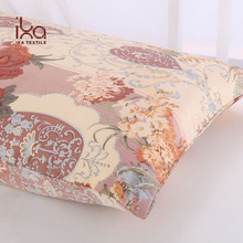 Home Decorative Both Sides 100% 16mm Mulberry Pillowcase Printed Silk Cushion Cover