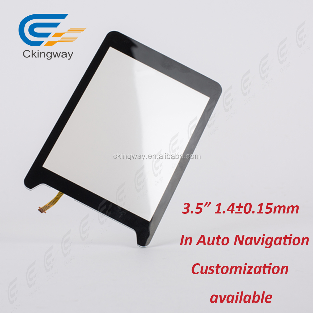 3.5 inch 4-wire lcd resistive Interactive Touch Foil