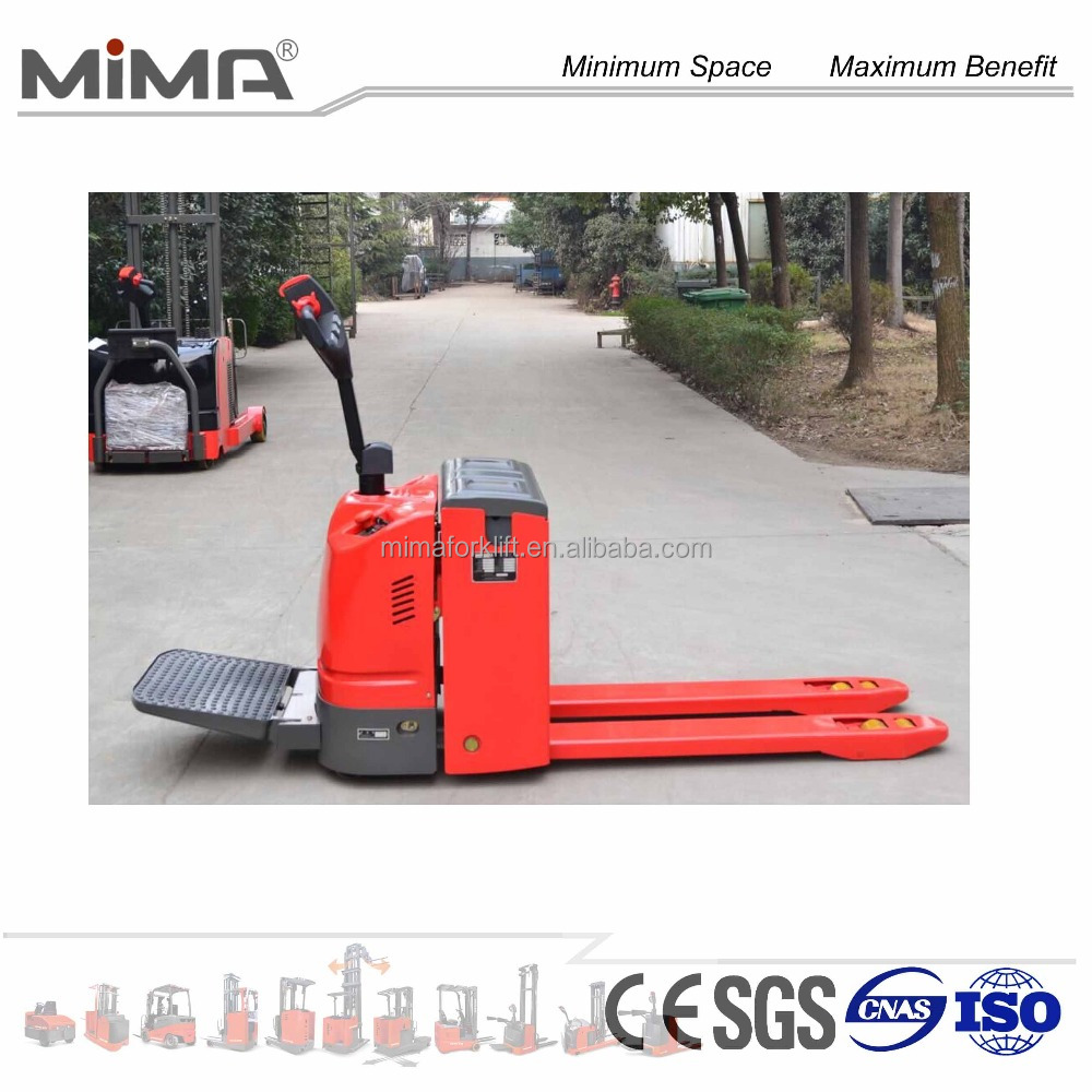 MIMA powered pallet jack battery pallet truck hand jack with CE