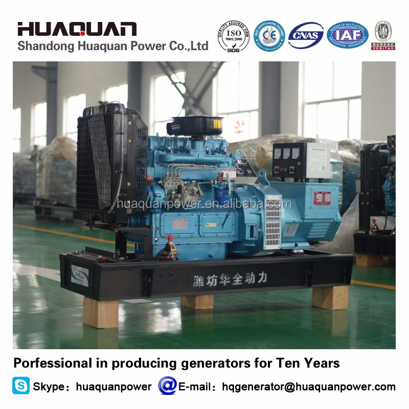 china engine generator head 20kw