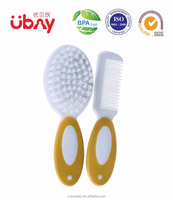 New design baby hair brush and comb set