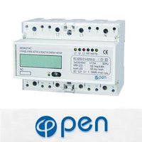 DEM421AC three phase 4 wire energy meter,energy meter accuracy class