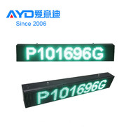 2016 Hot Sale Dongguan LED Moving Message Sign,front Service LED Display