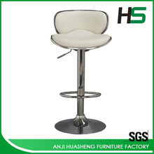 Low price aluminium led bar chair