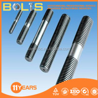 stainless steel double end threaded rod