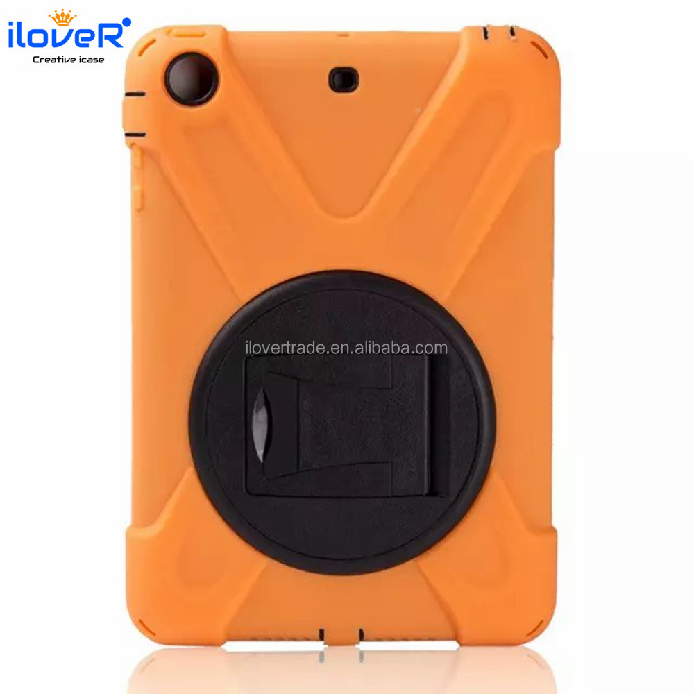 Factory direct supply Pc silicon high quality case for ipad mini3 case