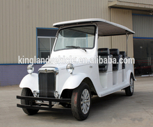 4 wheel 12 person electric golf cart for sale with competitive price 3x4 seats electric vintage golf carts