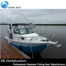 Offshore 19ft Aluminum Fishing Boats Made In China With Targa