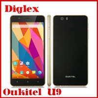 Mobile Phone 5.5inch OUKITEL U9 M6753 Octa core 1.5GHZ 3GB/16GB Android 5.1 Dual sim 16MP Cameras Google Play Phone