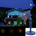 Star Shower Motion Laser Lights Christmas Hallowmas Light outdoor garden laser light