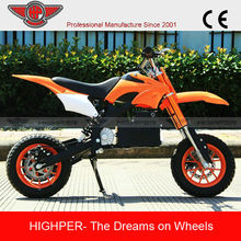 Chinese Cheap Electric New Kids Mini Pocket Bike Mini Dirt Bike For Sale Cheap (HP110E-A)