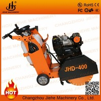 150mm max cutting depth asphalt road cutter machine with water tank, Diesel Engine(JHD-400D)