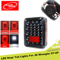 Rear Brake Reverse Jeep LED Tail Light For Sport Rubicon Sahara Unlimited