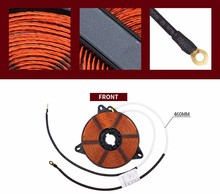 Induction Cooker Spare Parts Induction Cooker Heating Coil factory
