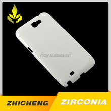 Eco-friendly zro2 ceramic mobile phone case cover with ZC
