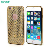 Luxury Metallic Golden Bling 3D case cover for iPhone SE/6S Mobile