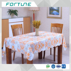 factory supply peva solid color film with different pattern printed Tablecloth