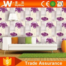 [A10-2BJ060503R] Best Price Wallpaper Flower Rolls PVC Project Wall Decoration Wallpaper Coating