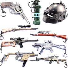 Jedi Survival tonight eat chicken revolver 98k sniper rifle key chain alloy weapons