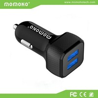 MOMOHO 2.1a dual usb car charger for mini cooper