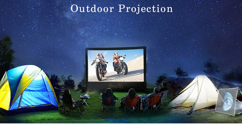 Anxin hot sale product support 1080p mini portable projector RD-805B