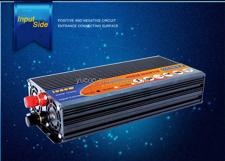 DC/AC Inverters pure sine wave power inverter 12v 220v intelligent power inverter 1000w