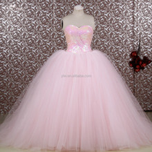 RSE653 2015 Wholesale Elegant Princess Ball Gown Patterns Long Puffy Free Shipping Custom-Made Sweetheart Prom Dress