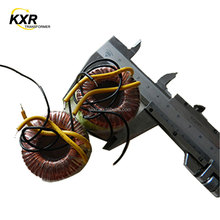 CE ROHS approved toroidal power transformer 12V 300mA, small electronic transformer, 3.6VA 24V transformer