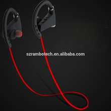 Waterproof Ergonomic Wireless Sports Mobile Bluetooth Head Phones for iphone 3gs buzzer RN8