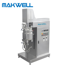 Vacuum emulsifying mixer/laboratory emulsifier mixer For Cream and Shampoo